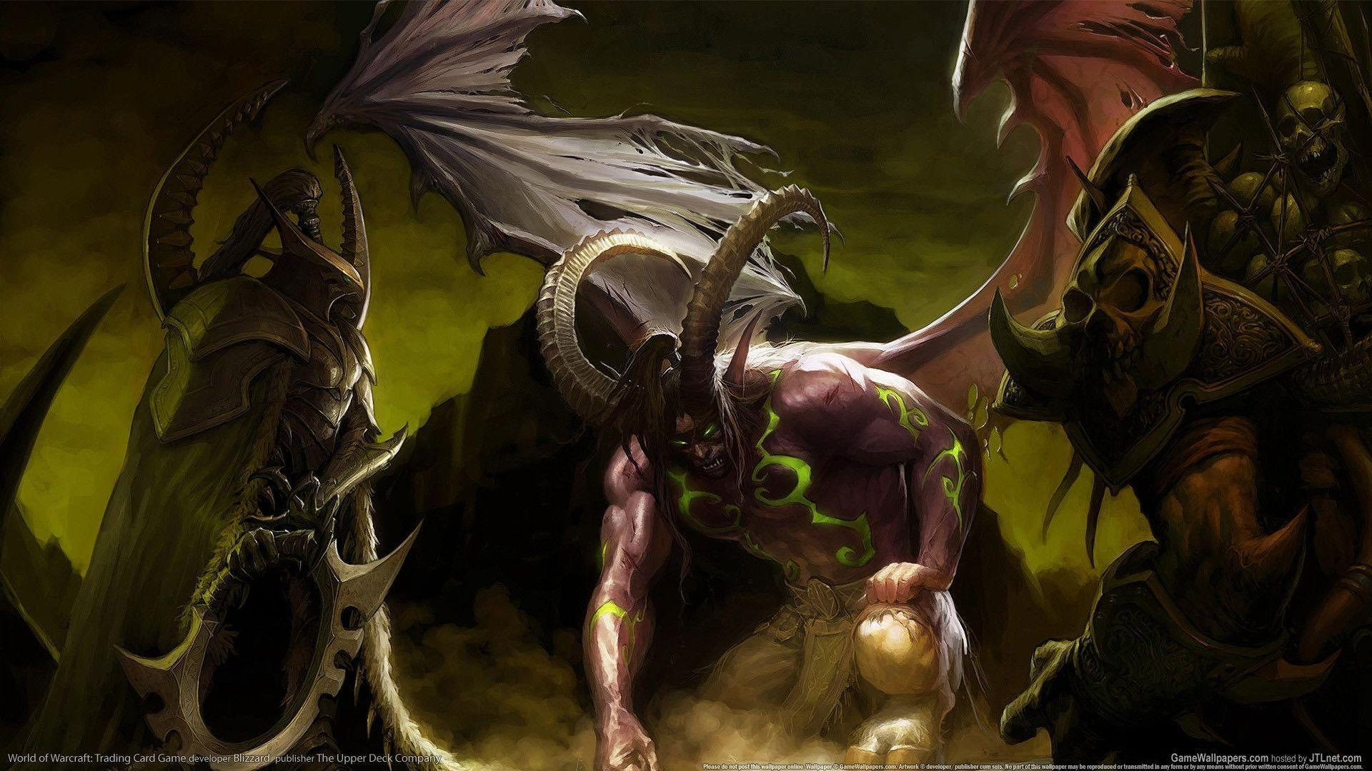 Illidan Stormrage : Desktop and mobile wallpapers : Wallippo