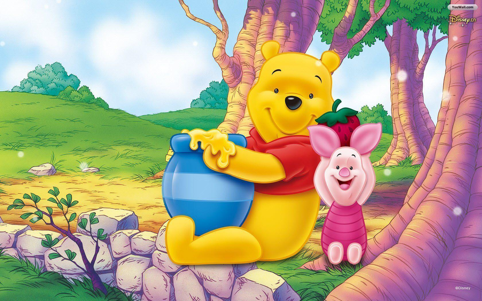 Winnie the Pooh High Resolution Wallpaper Free | Cartoons Images