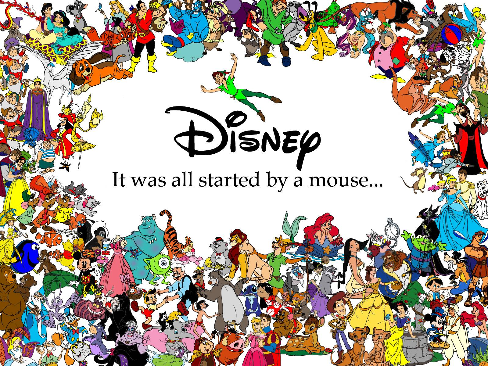 Disney logo wallpapers wallpaper cave disney characters logo wallpaper 24945 high resolution download voltagebd Image collections