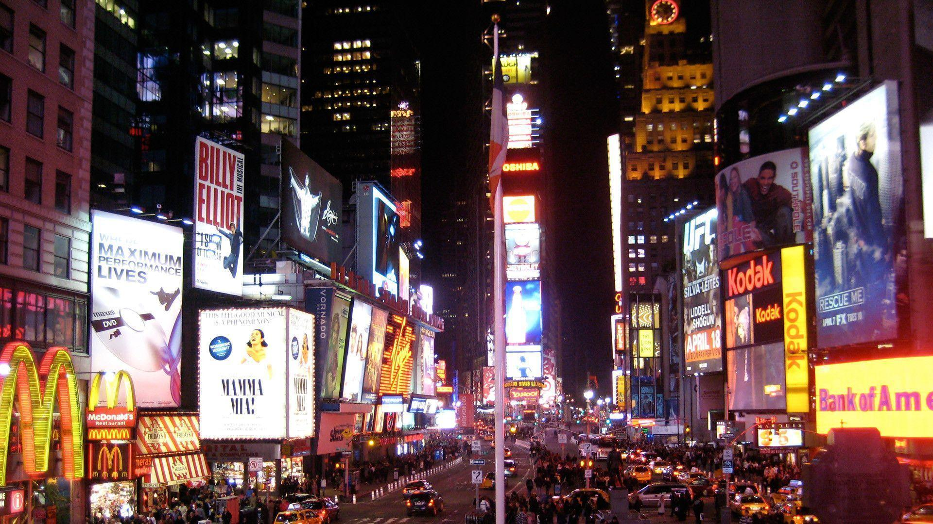 Times Square HD desktop wallpaper | Times Square wallpapers