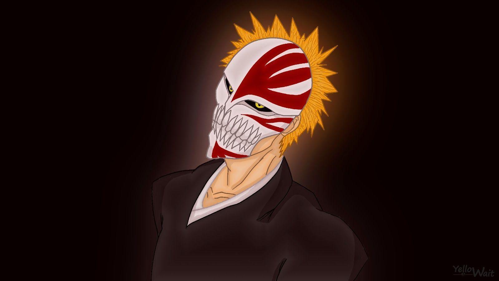 Vizard ichigo wallpapers wallpaper cave - Ichigo vizard mask ...