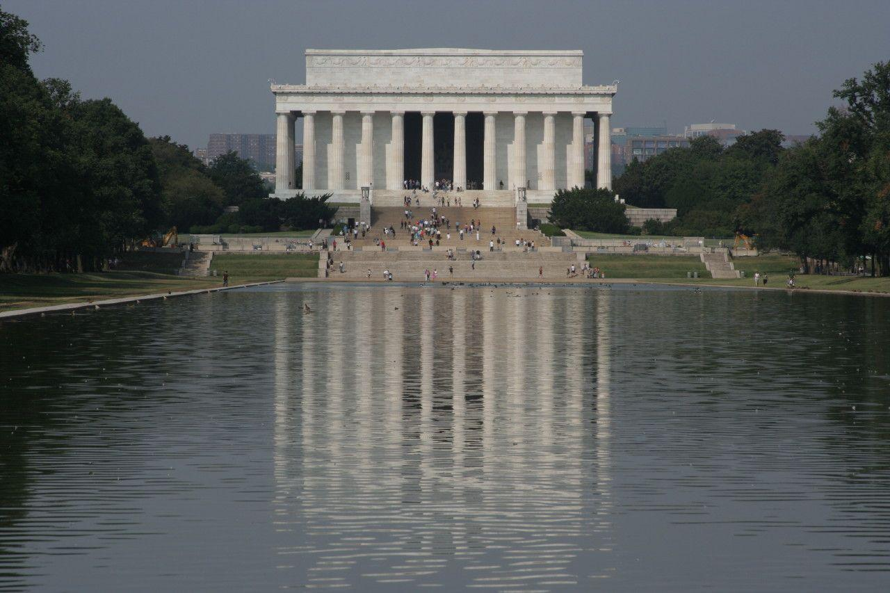 Lincoln memorial wallpapers wallpaper cave - Reflecting pool ...