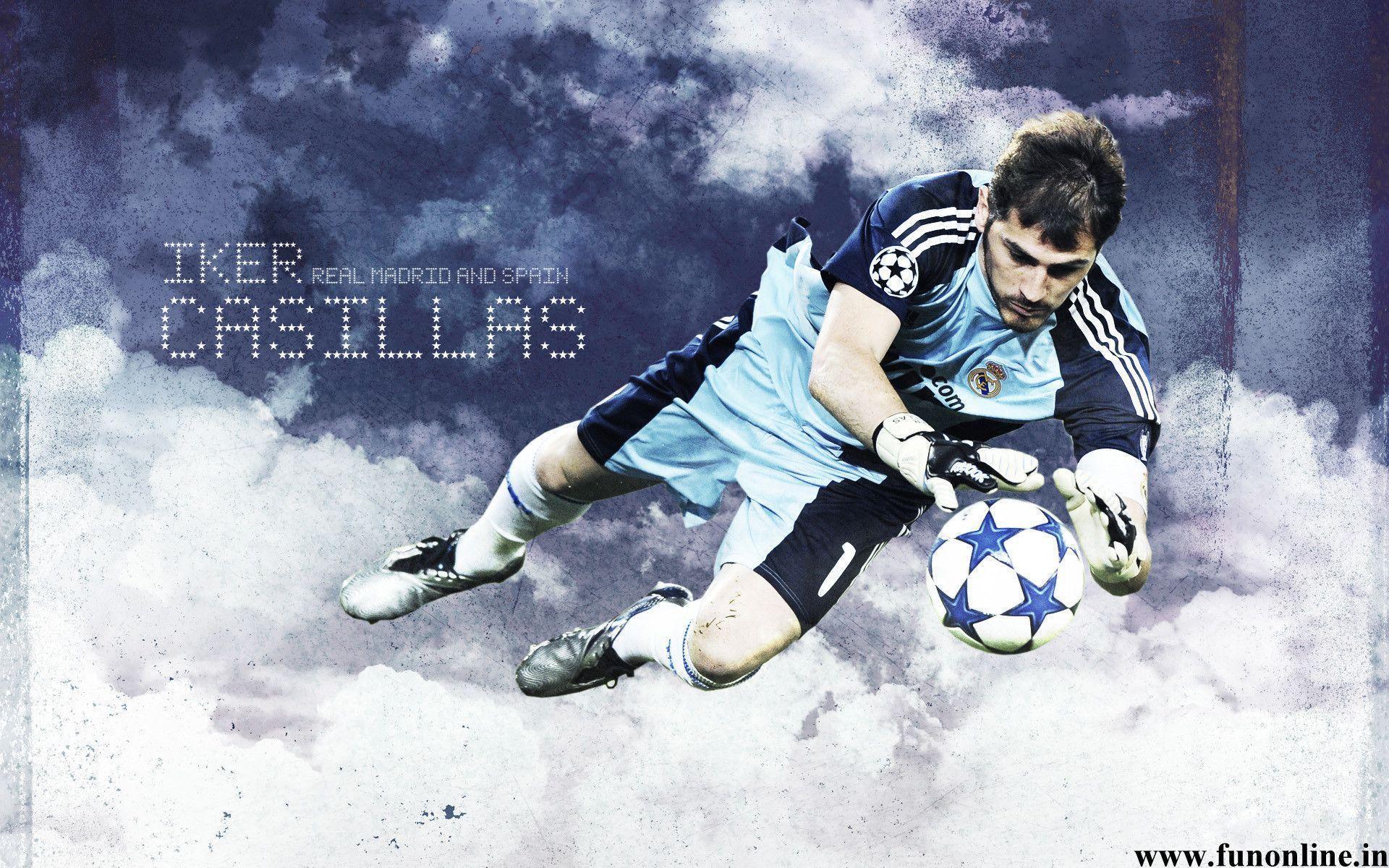 Iker Casillas Wallpapers Goalkeeper HD Wallpaper Free