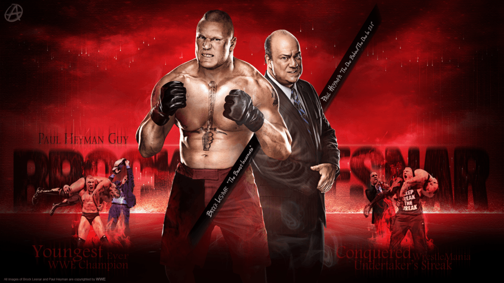WWE Brock Lesnar Wallpapers by TheSpearstar