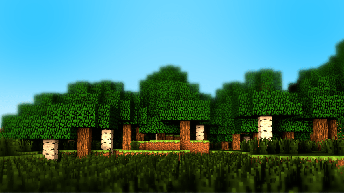 Minecraft wallpaper by datfireflow on DeviantArt