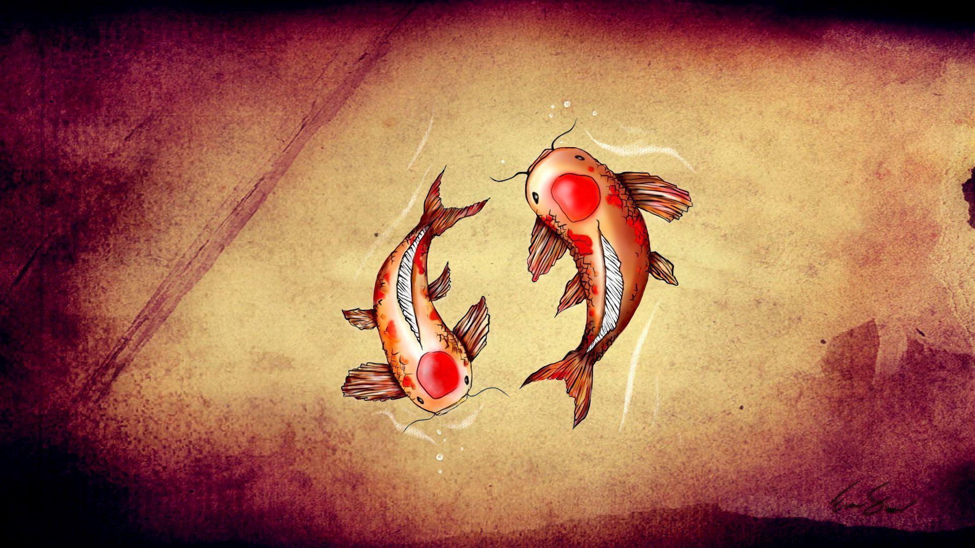 Coy fish wallpapers wallpaper cave - Carp wallpaper iphone ...