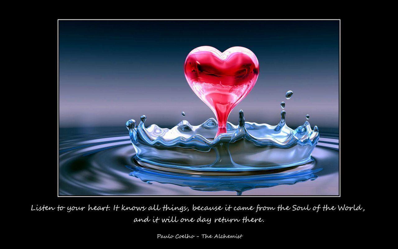 Wallpaper download emotional - Download Emotional Sad The Alchemist Paulo Coelho Quotes Wallpaper