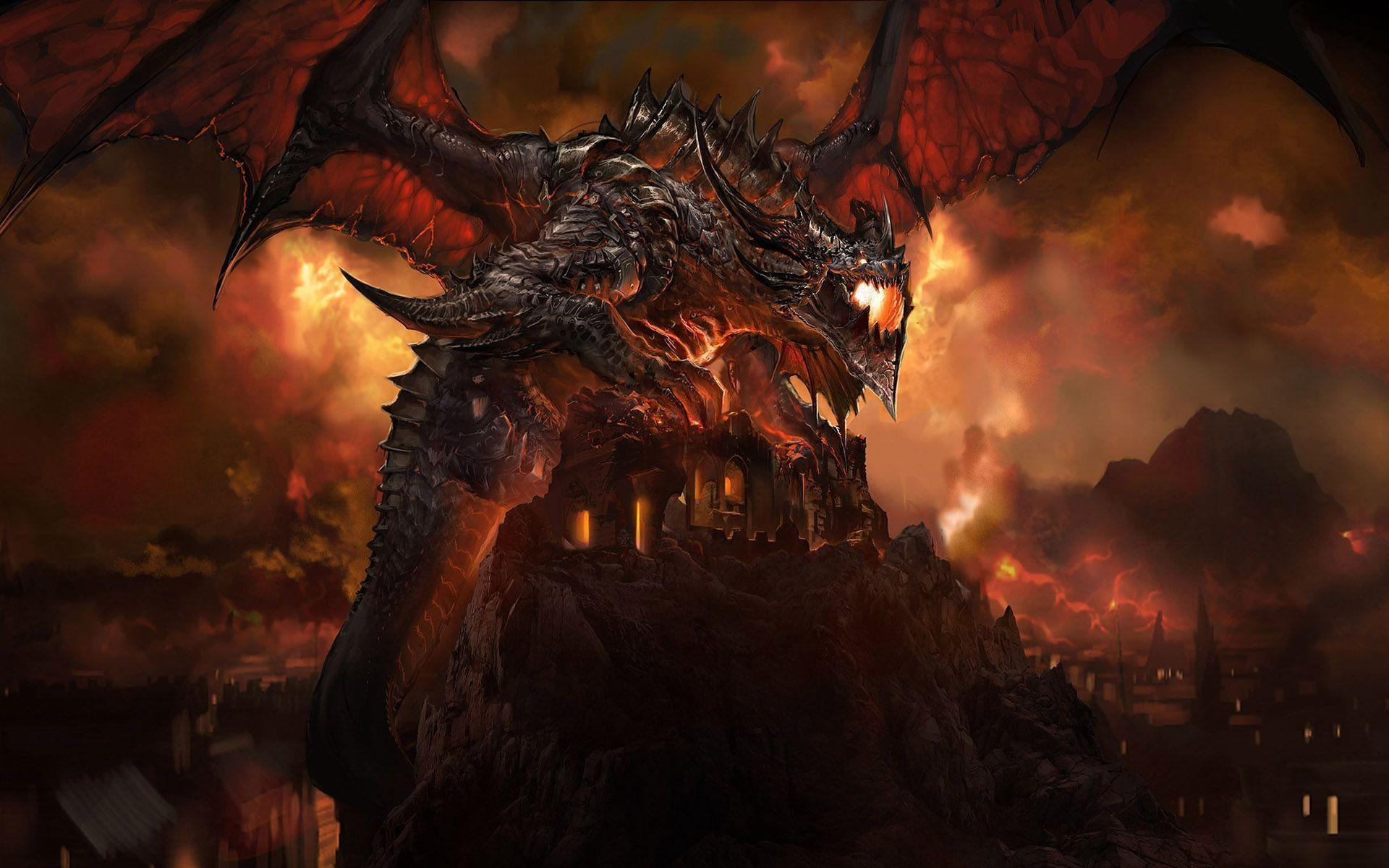 Wallpapers For > Dragon Wallpapers Hd 1080p