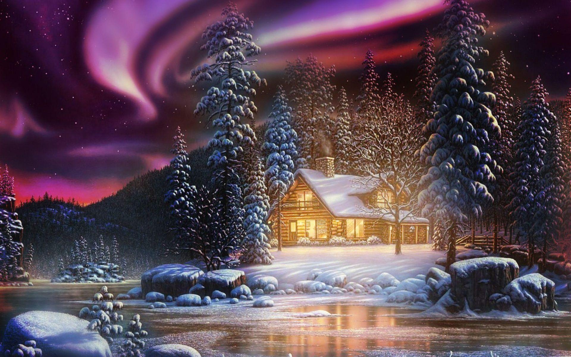 wallpaper landscape winter autumn - photo #34