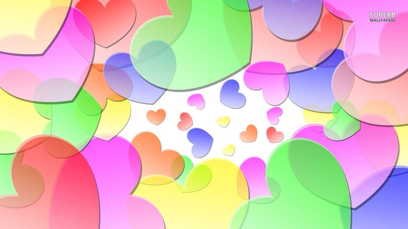 hearts wallpaper 1280x800 1366x768 - photo #20