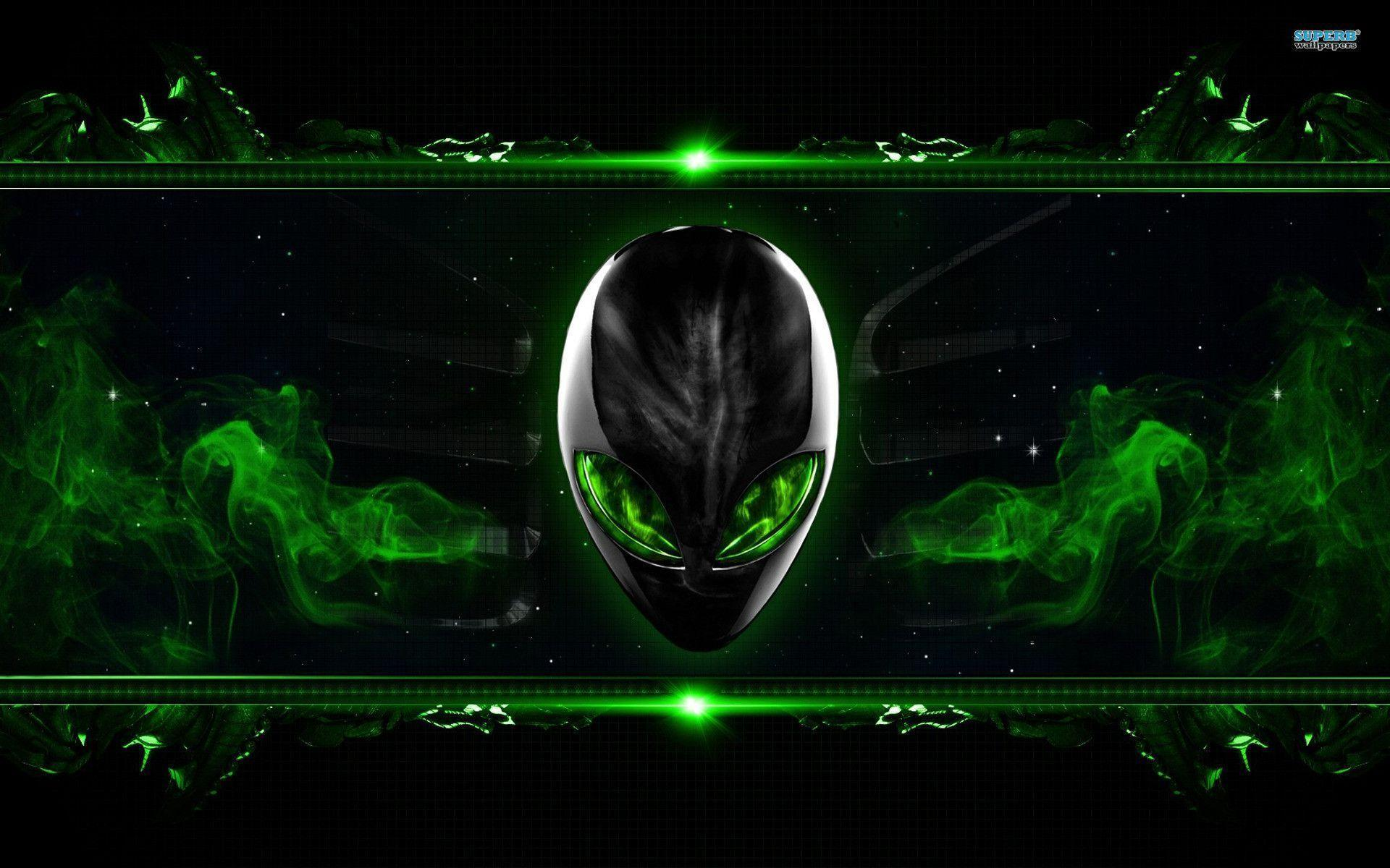 alienware wallpaper green hd - photo #2
