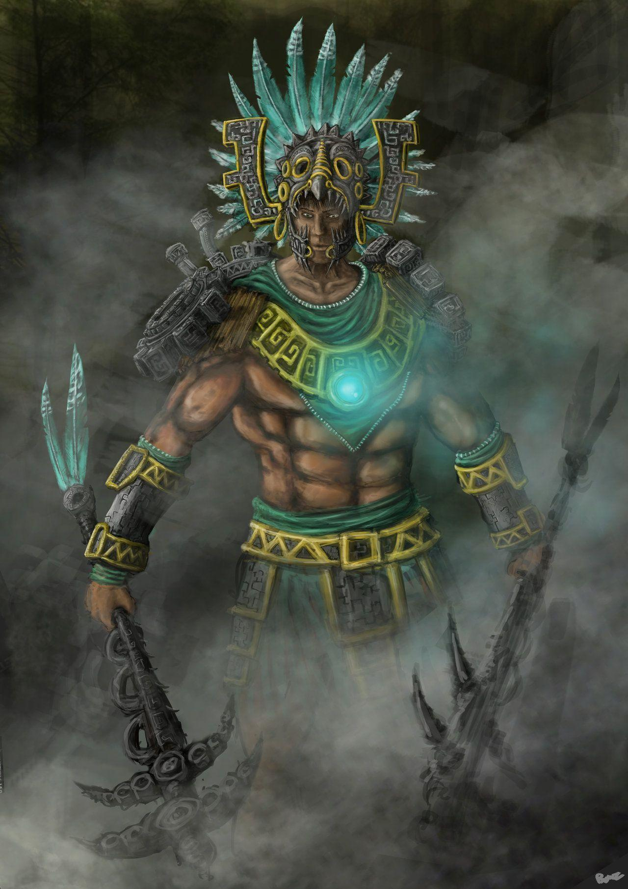 Wallpapers For Aztec Warrior Wallpaper
