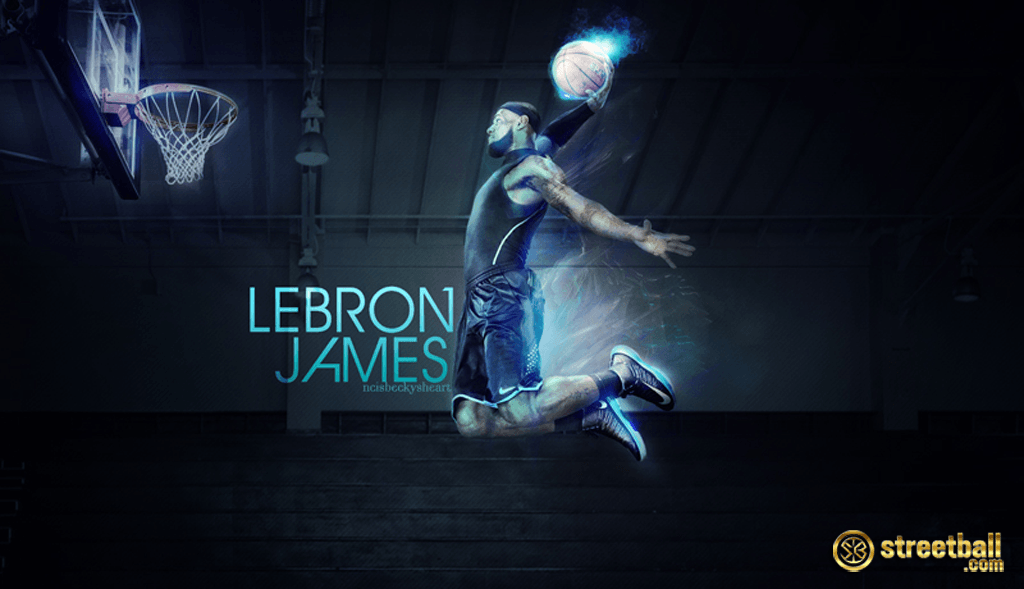 Miami Heat Wallpapers Lebron James Dunking