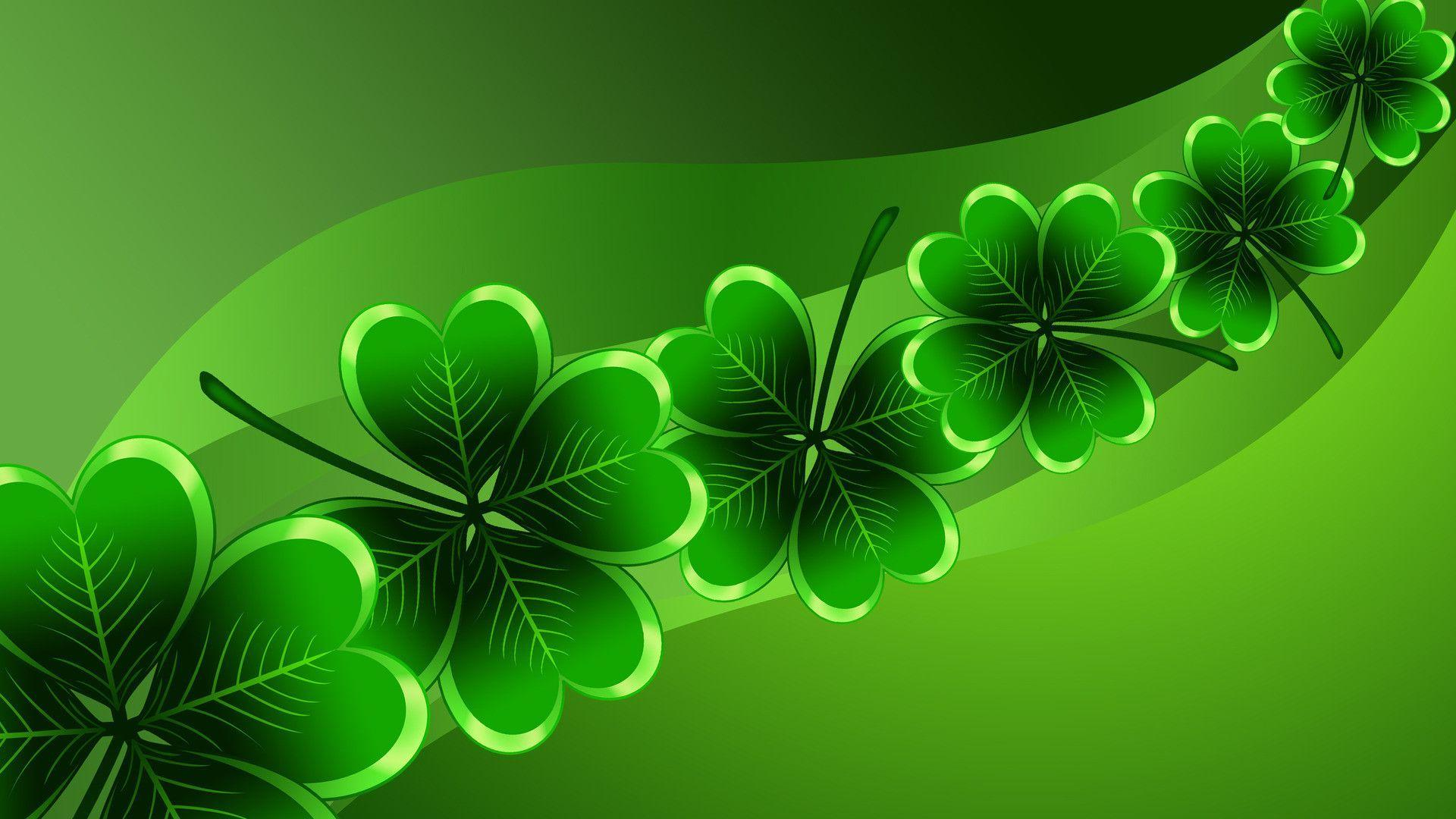 patricks day shamrock background - photo #4