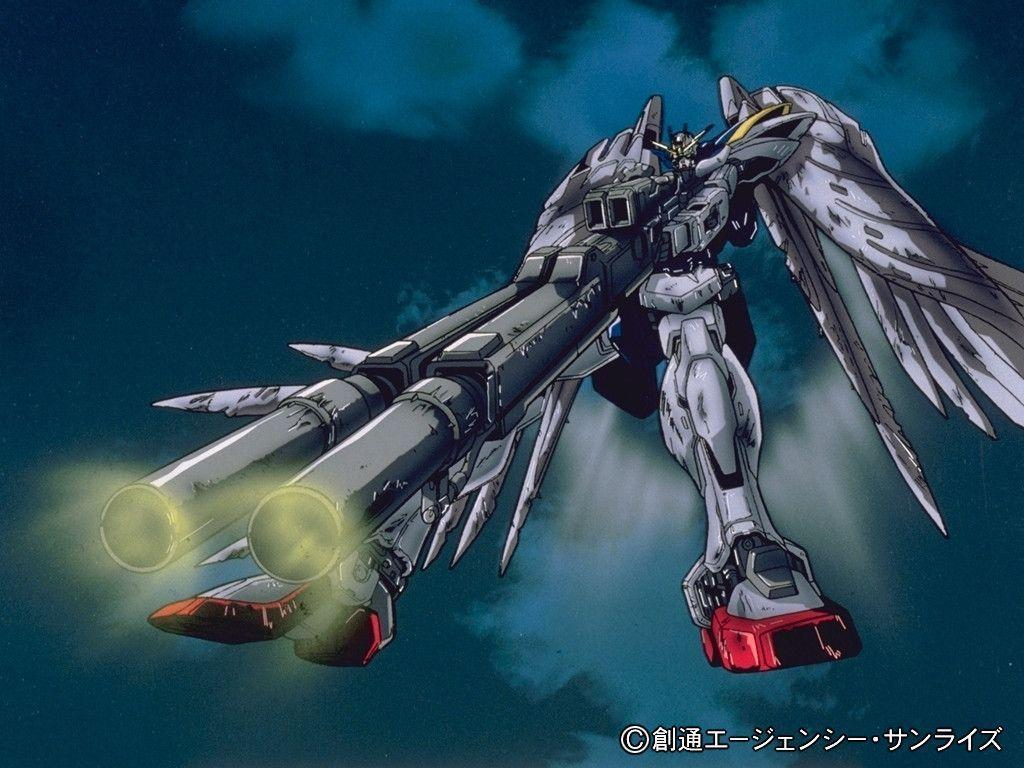 Wallpapers For > Gundam Wing Endless Waltz Wing Zero Wallpapers