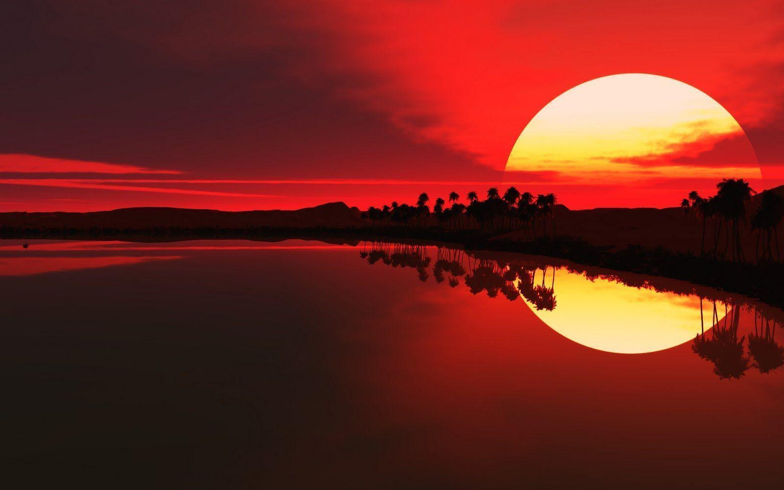 Sunset Wallpaper 4 16975 HD Wallpaper | Wallroro.