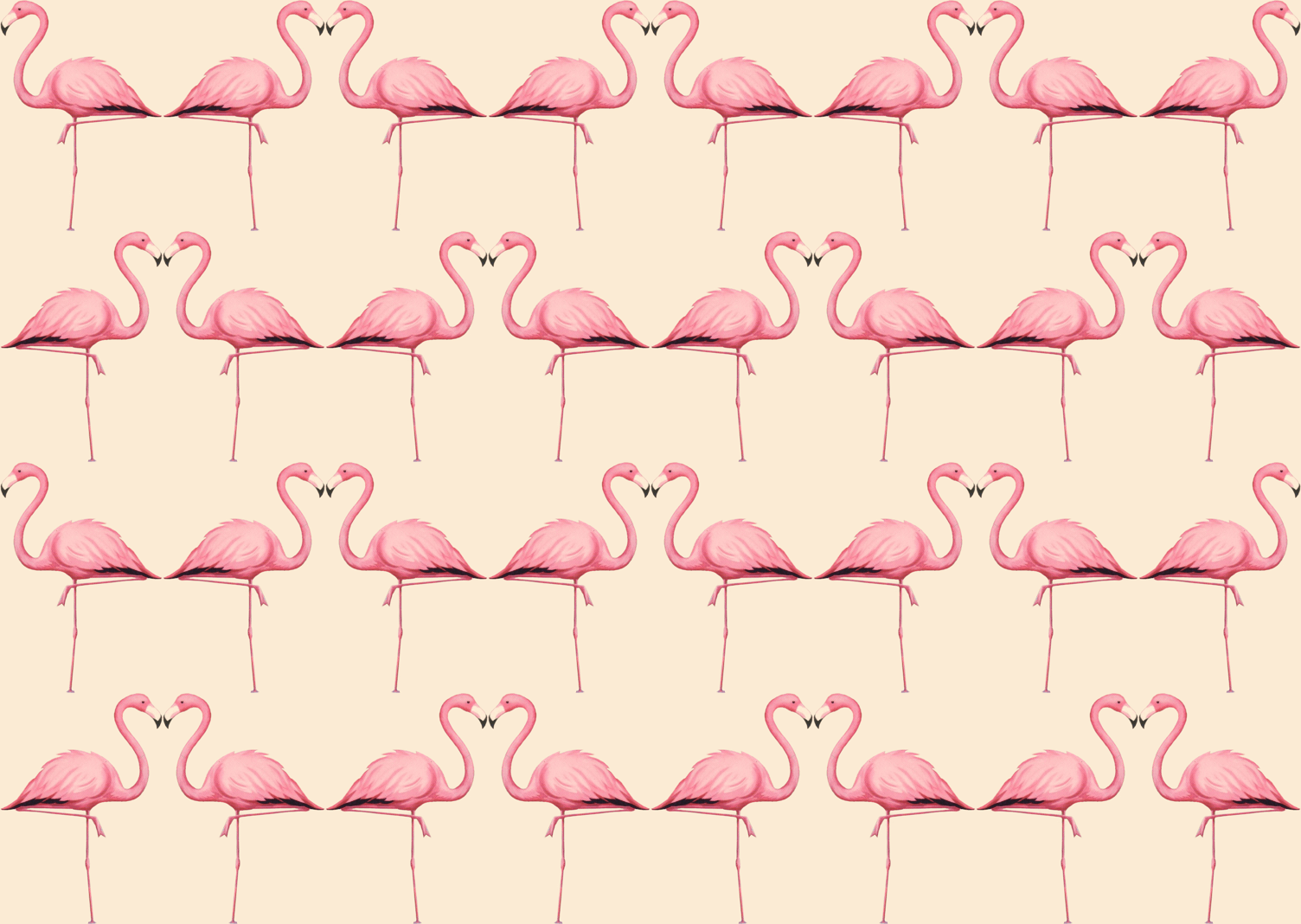 flamingo fabric, wallpapers & gift wrap