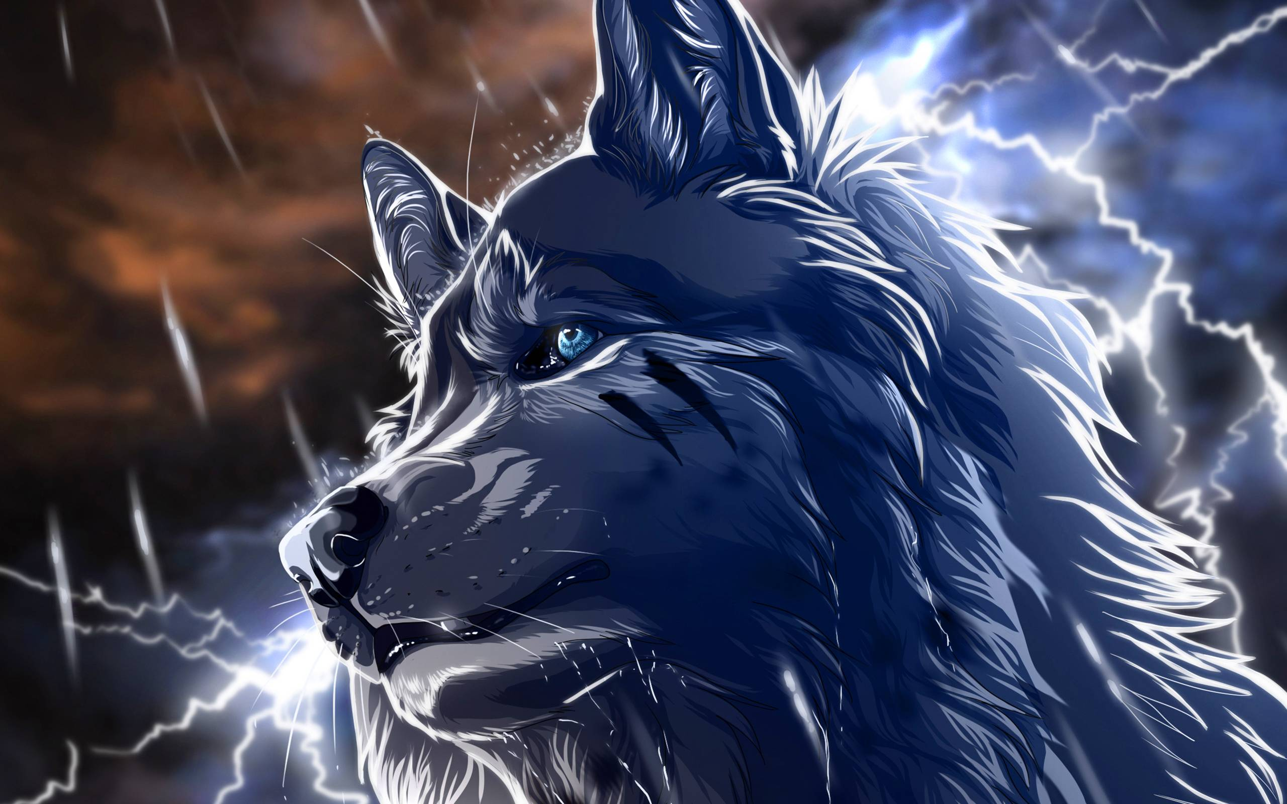 15 Anime Wallpaper Wolf Iphone Download