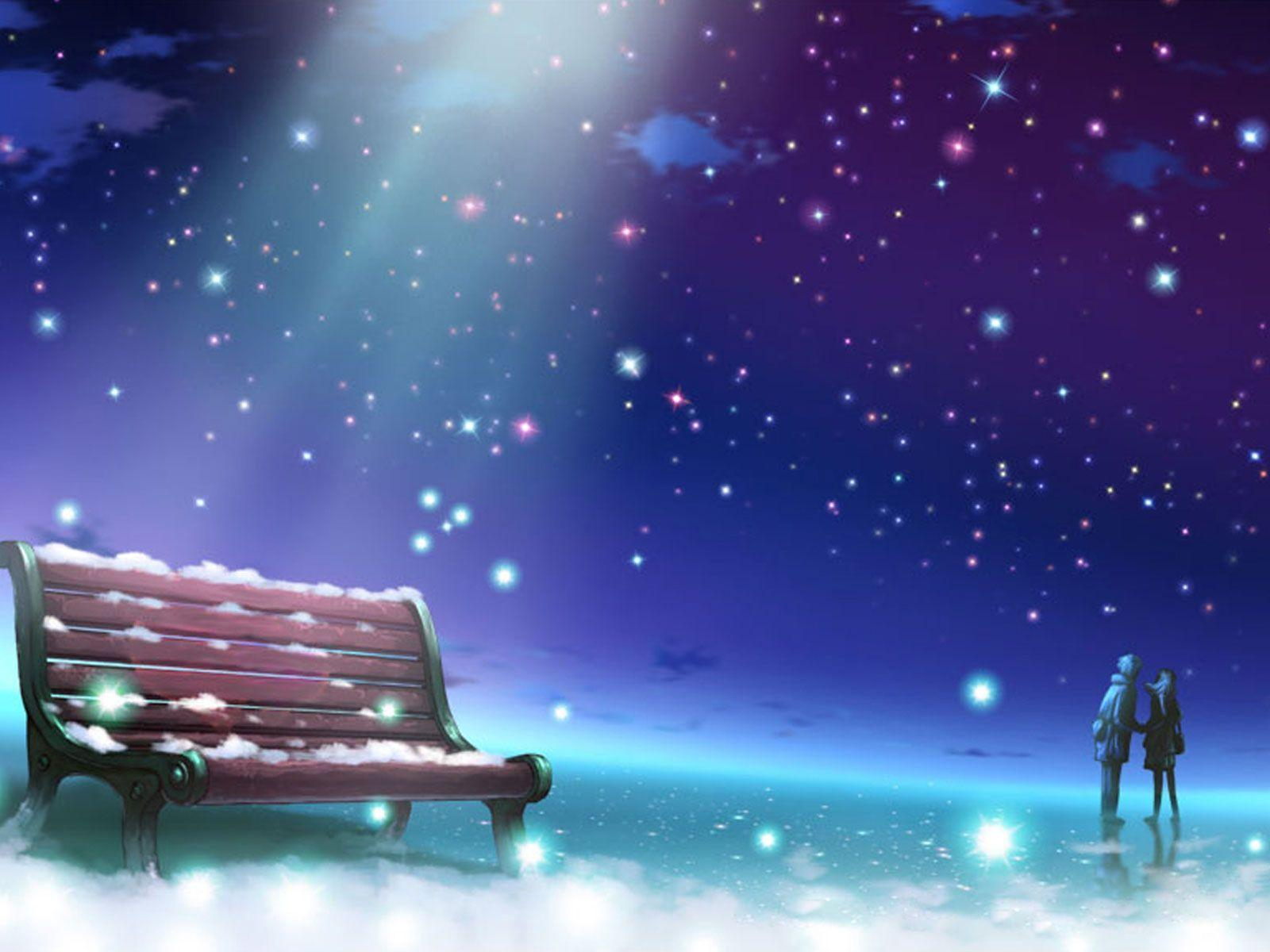 Anime Love Wallpapers: Romantic Anime Wallpapers