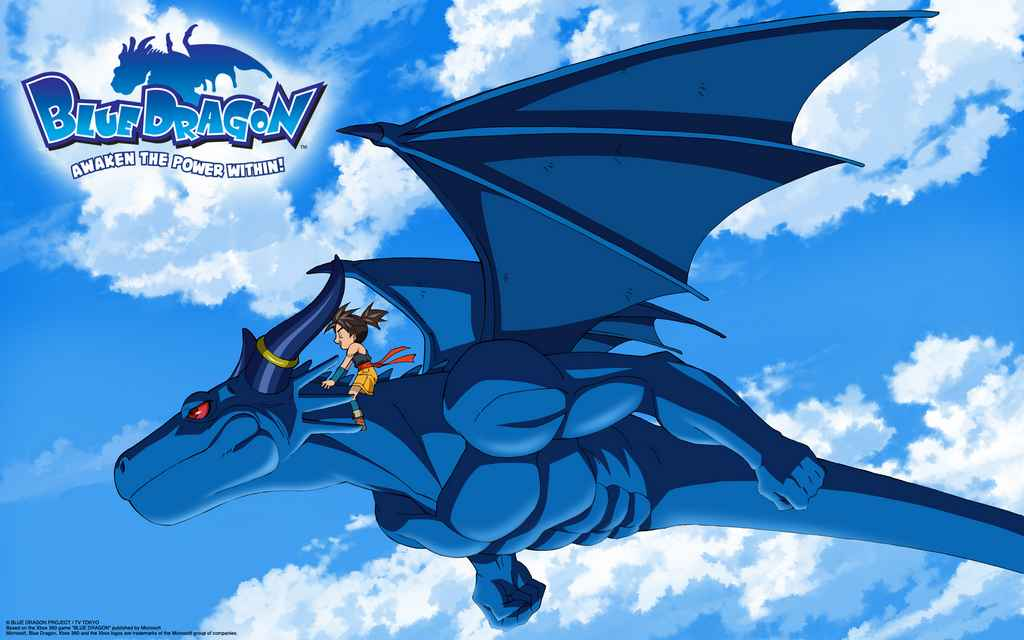 Wallpapers For > Blue Dragon Wallpapers