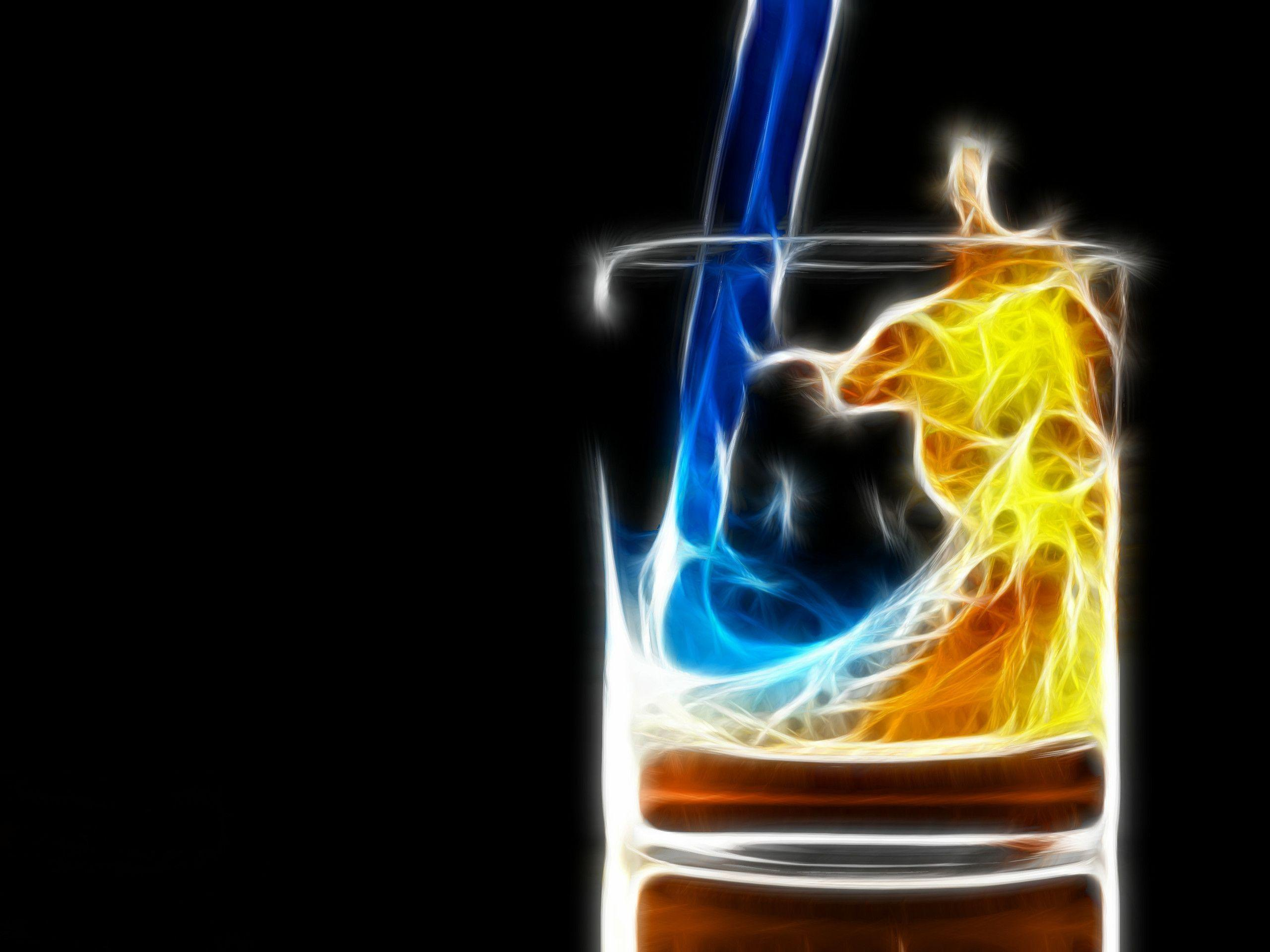 Fire Water. jpg : Desktop and mobile wallpapers : Wallippo