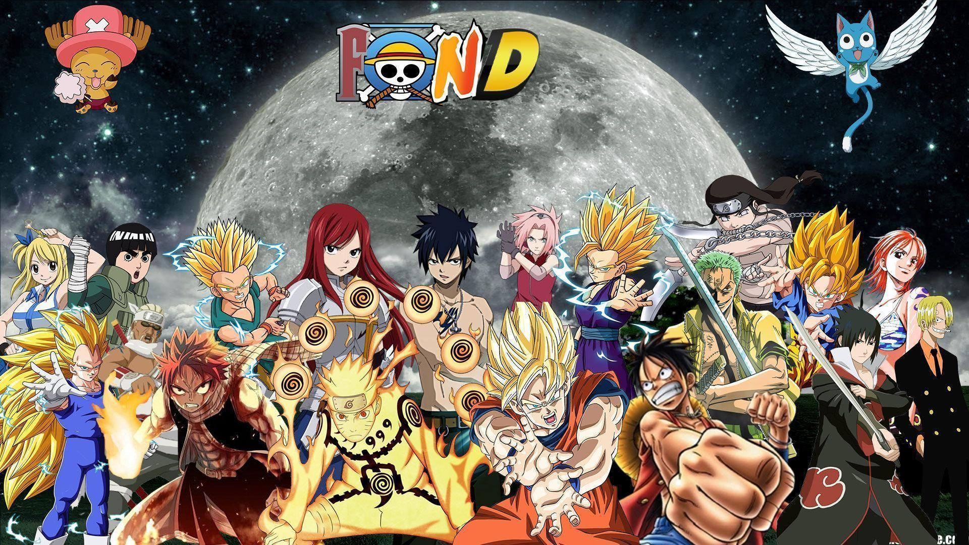 Fairy tail 2015 wallpapers wallpaper cave - Dbz et one piece ...