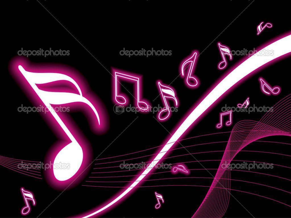 Cute Music Note Wallpaper: Pink Music Wallpapers