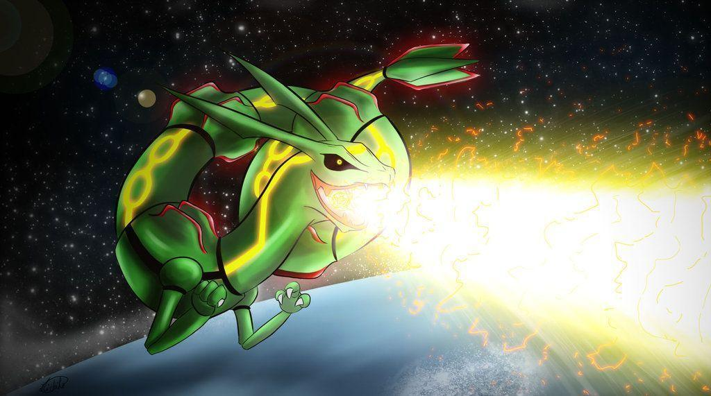 emerald rayquaza wallpapers - photo #20