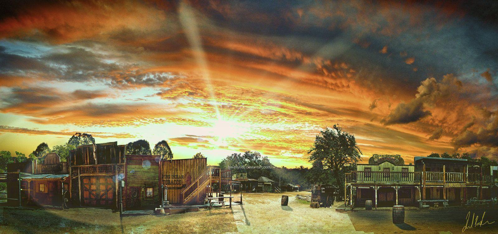 wild west background-#10