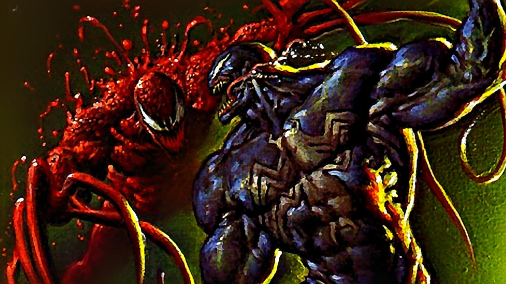 Marvel Comics Carnage Spiderman Wallpapers 1920x1080 taken from