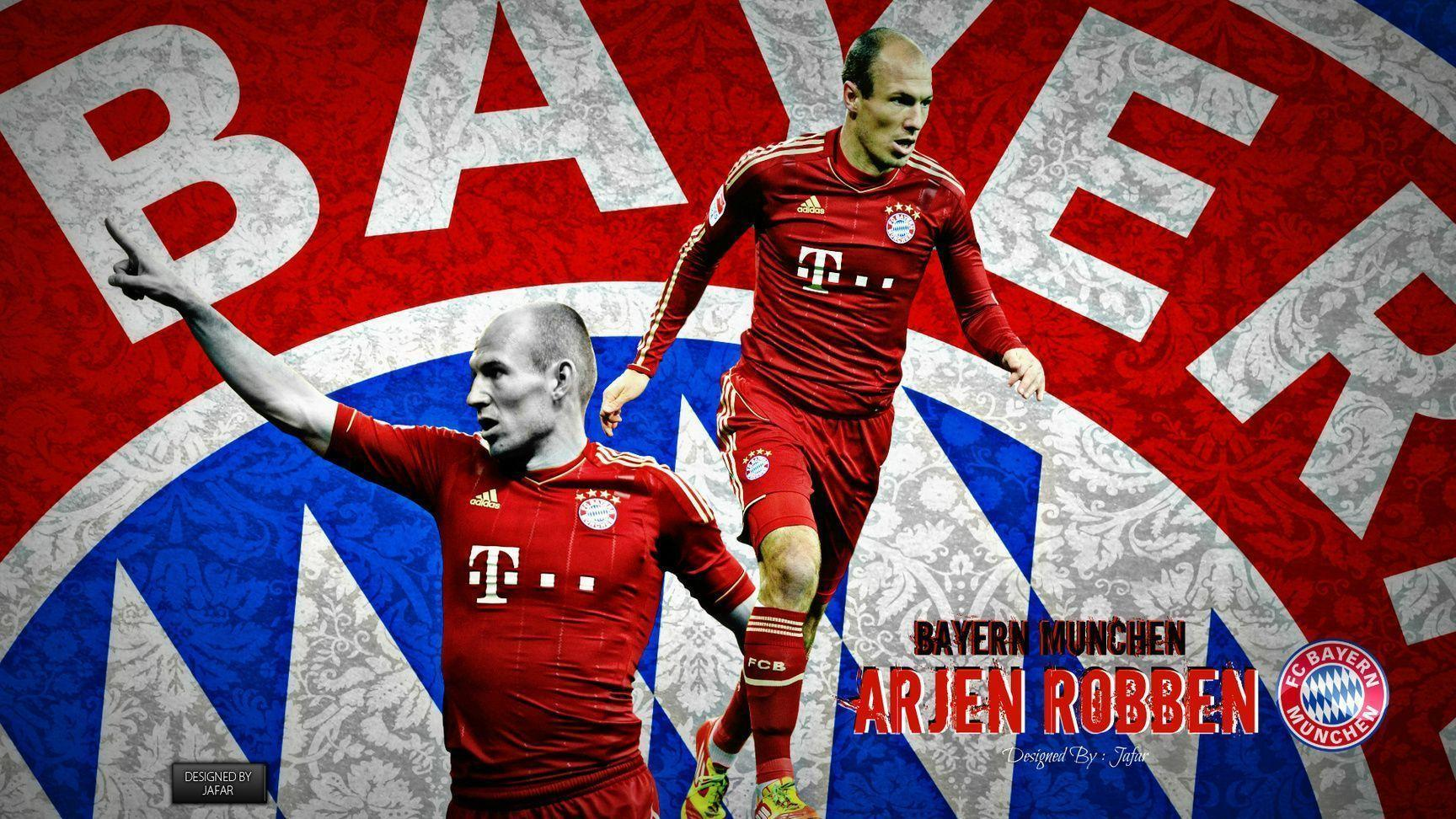 Hd Wallpapers Arjen Robben Bayern Munich 1366 X 768 959 Kb Jpeg ...