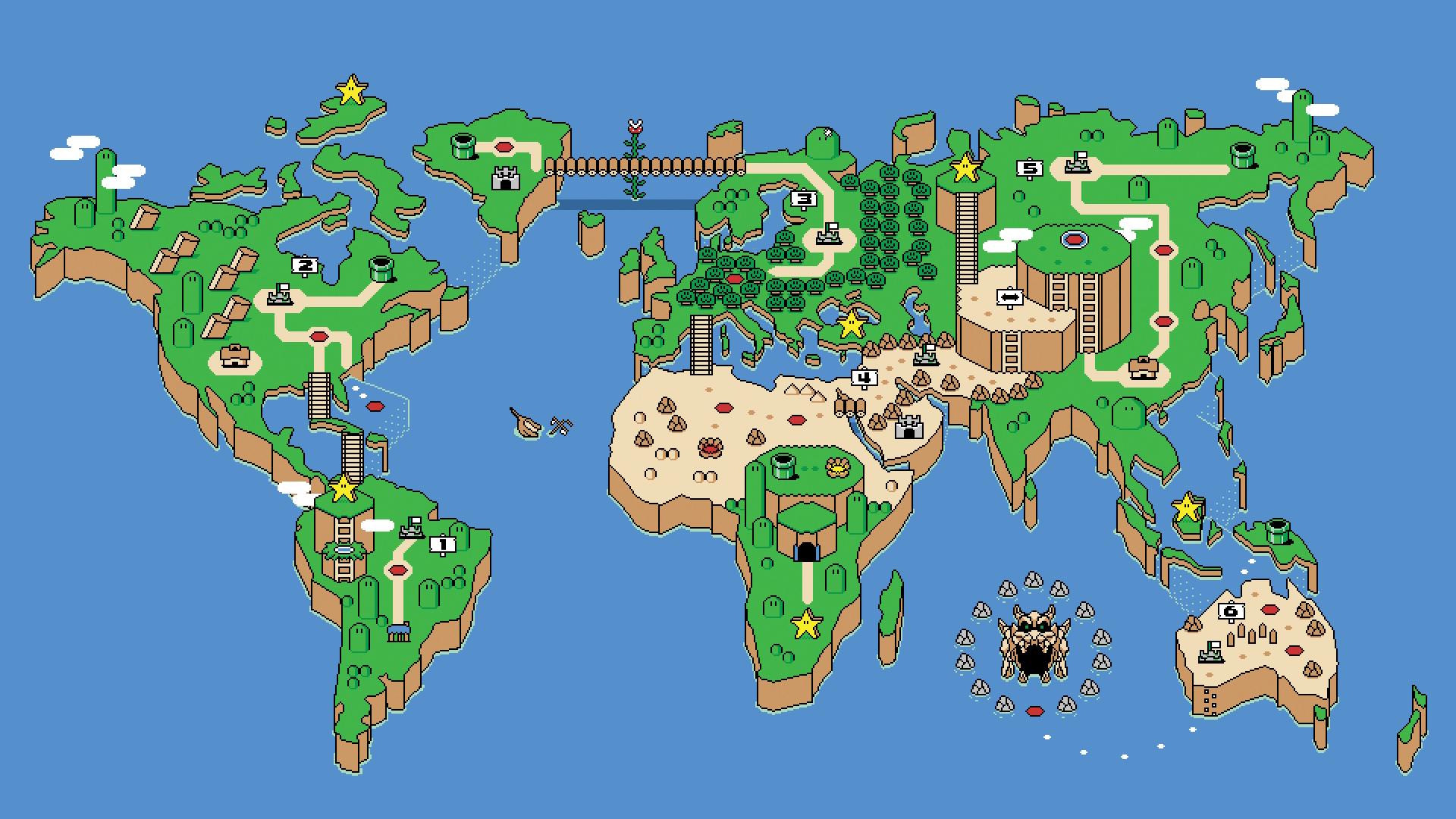 Mario HD Wallpapers - Wallpaper Cave