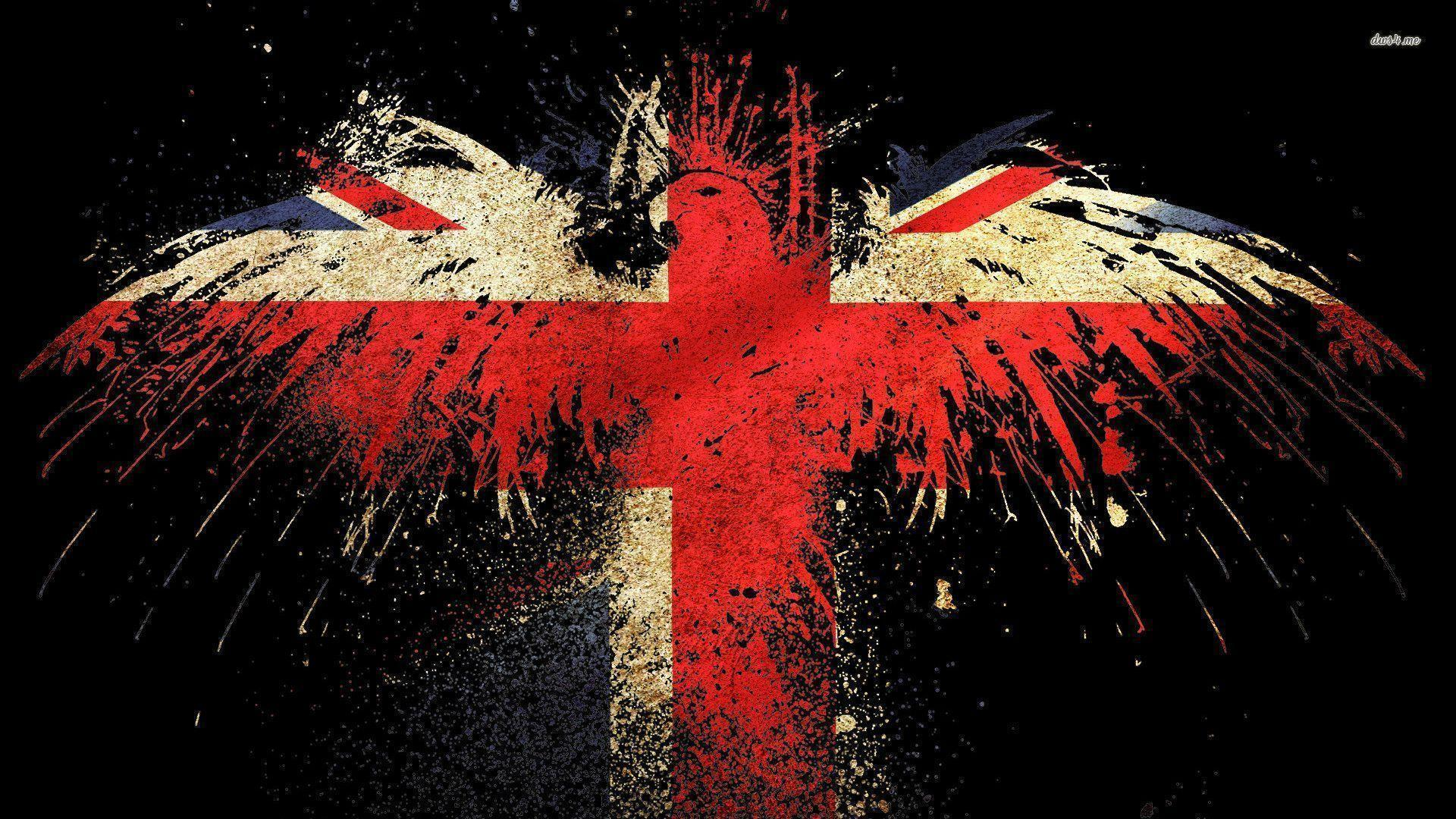Eagle Shaped Uk Flag Wallpaper Digital Art Wallpapers 1920x1080PX ...
