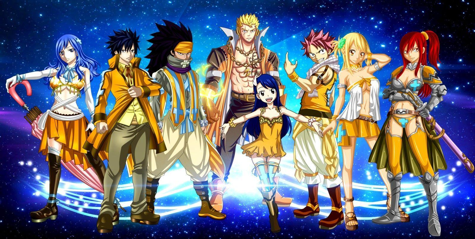 Download Fairy Tail Fantasia Hd Wallpapers