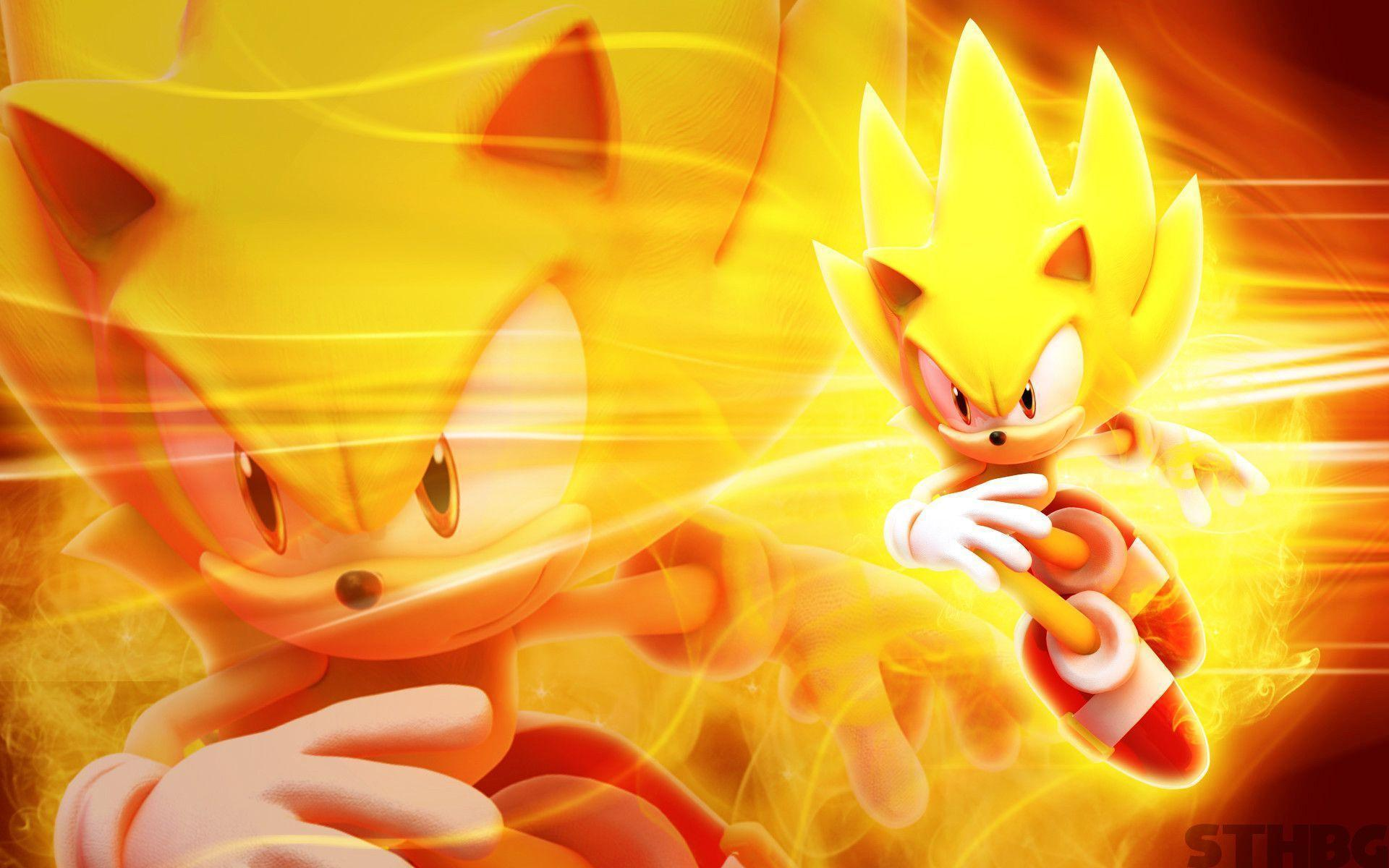 Super Sonic And Shadow Silver