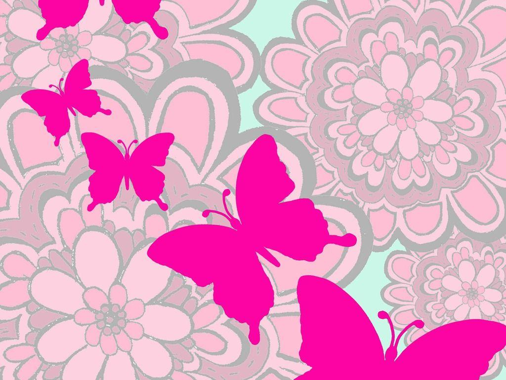 wallpaper pink butterfly - photo #5