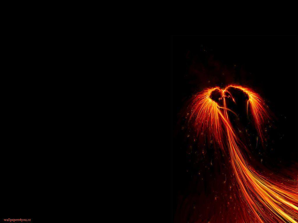 Dark Phoenix - Fantasy &amp- Abstract Background Wallpapers on Desktop ...