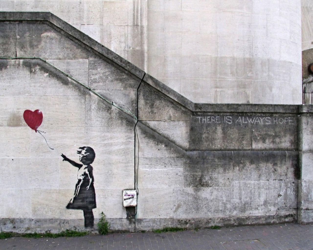banksy backgrounds wallpaper cave