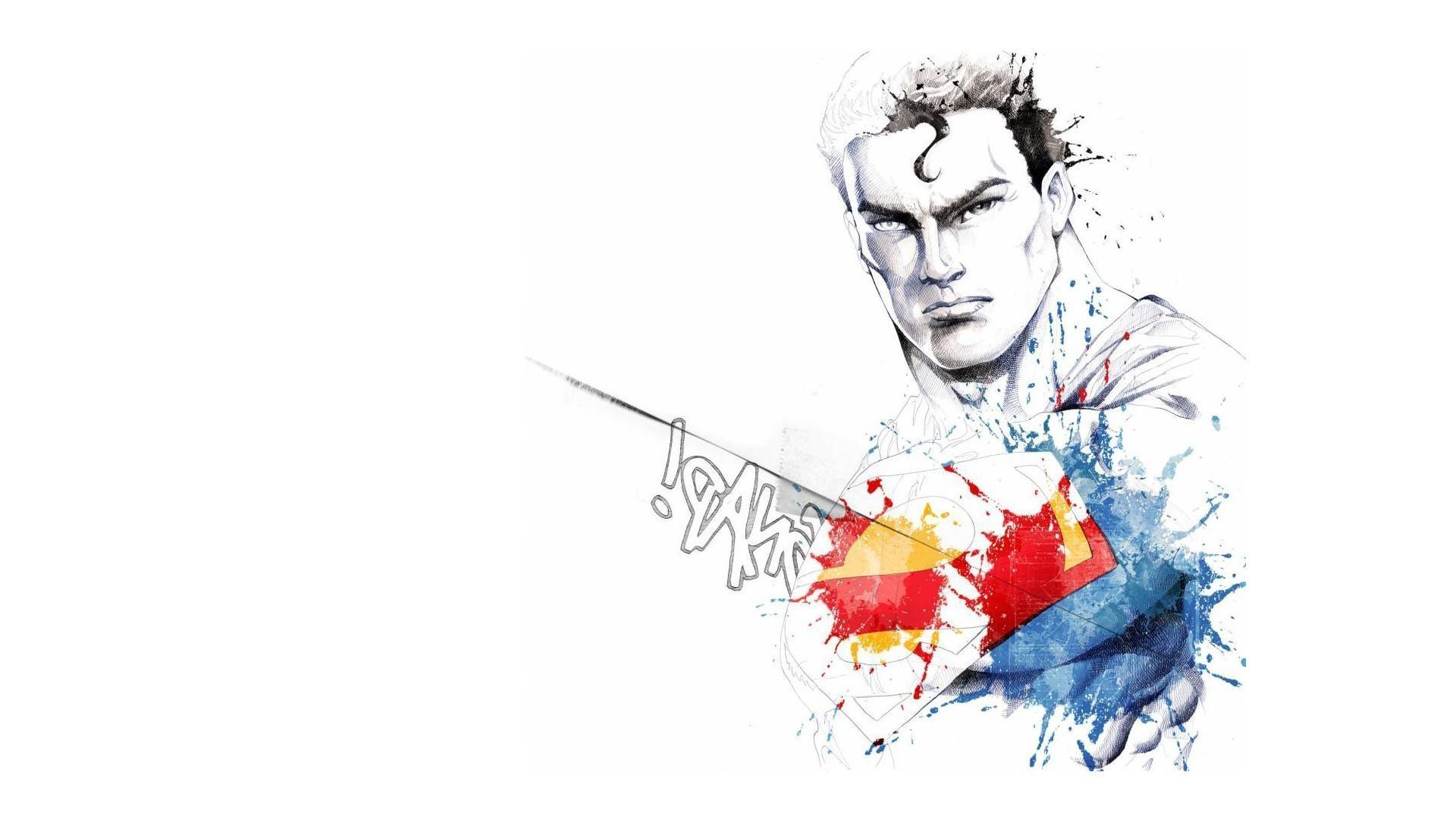 nerdy awesome superman wallpaper - photo #1