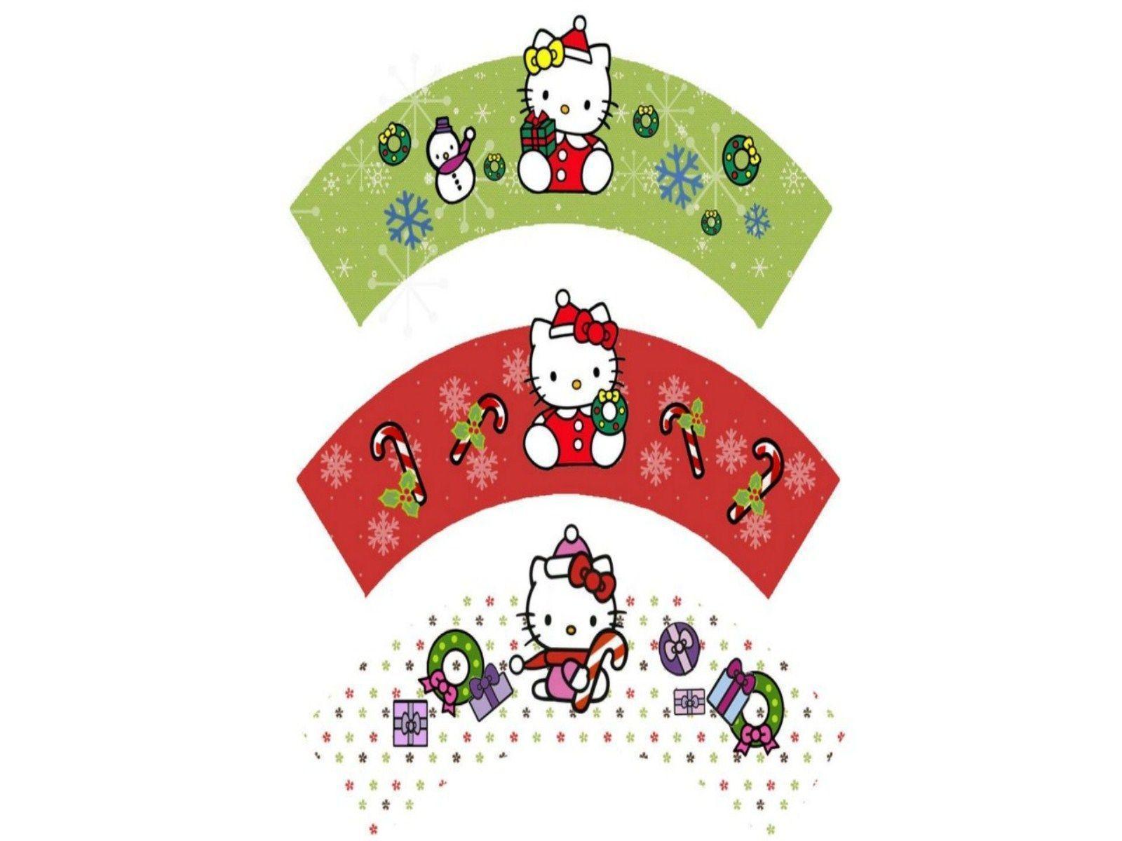 Hello Kitty Christmas Wallpaper  Hello Kitty Wallpapers