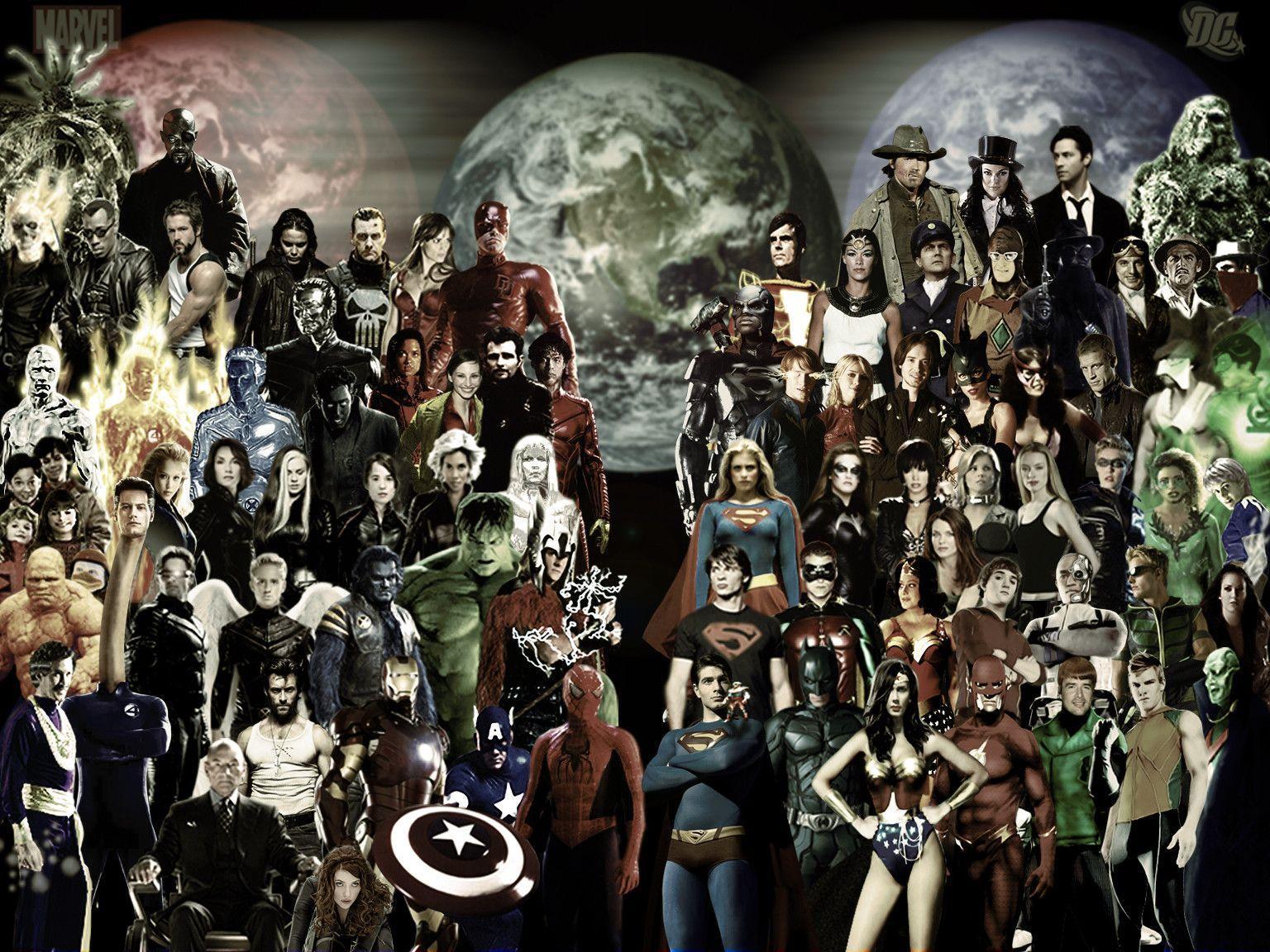 DC Heroes Wallpapers - Wallpaper Cave