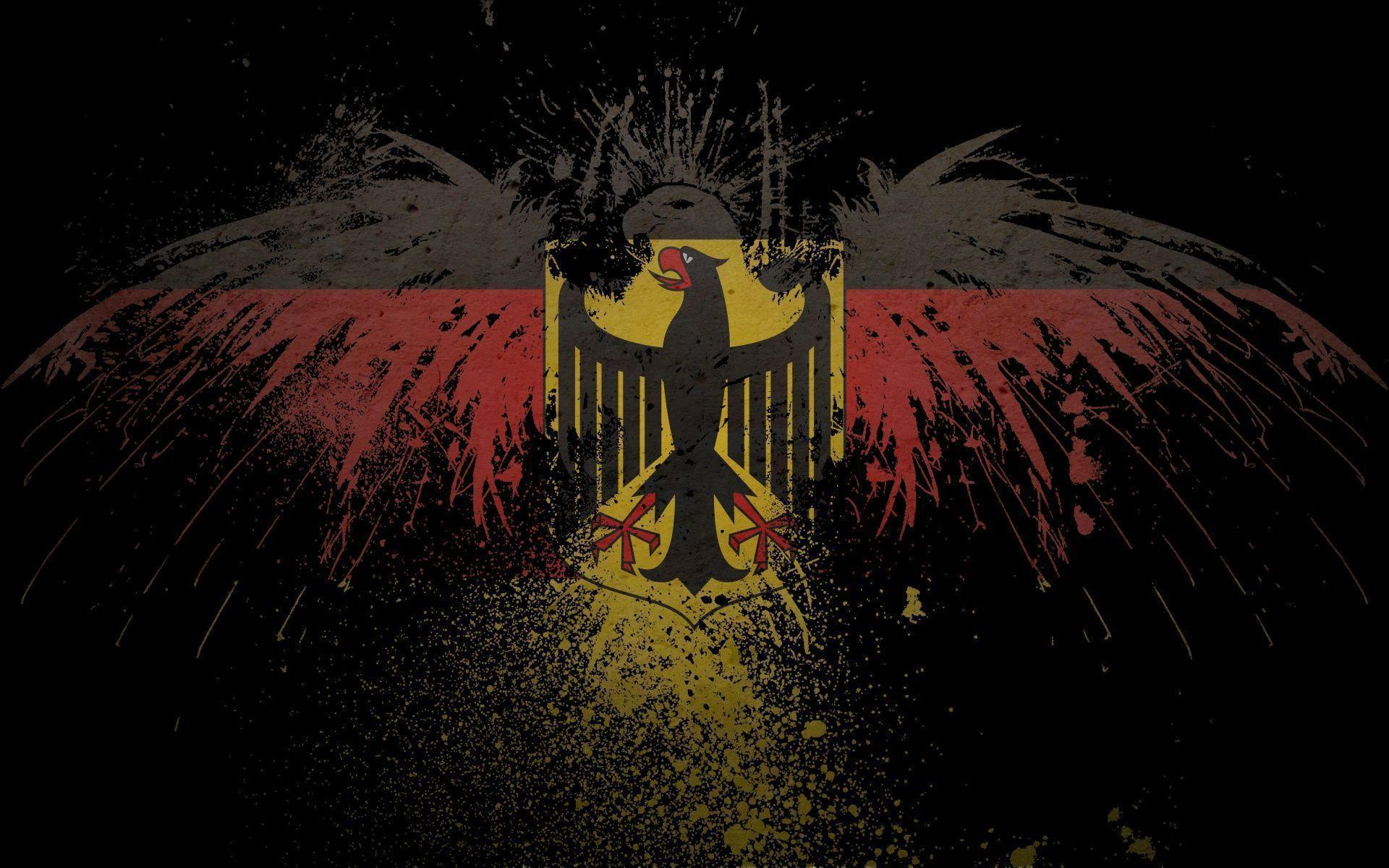 German Flag Wallpaper 1920×1200 - Wallpaper HD