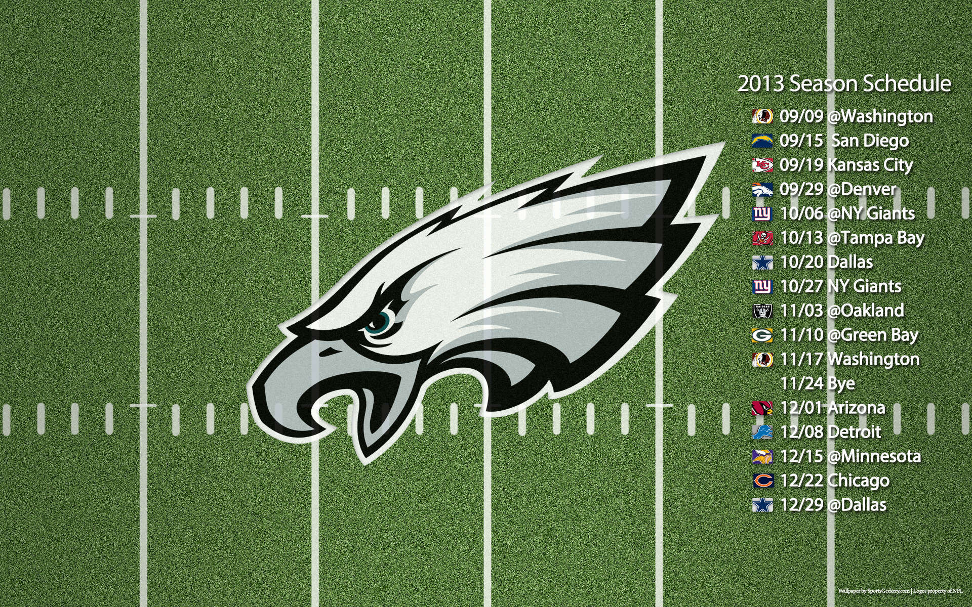 It is a picture of Inventive Eagles Schedule 2020 Printable