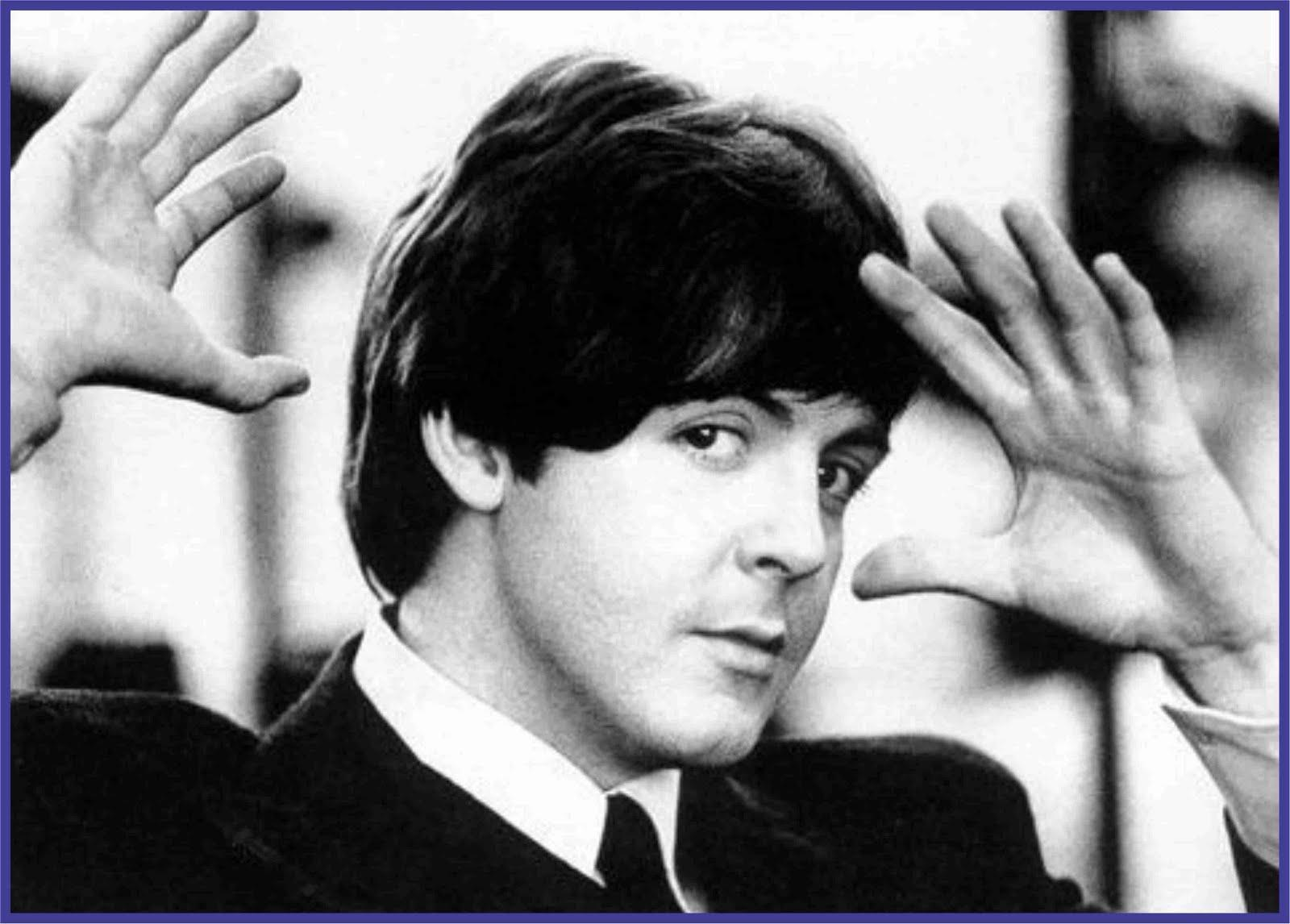 Paul McCartney Young Black white Wallpapers