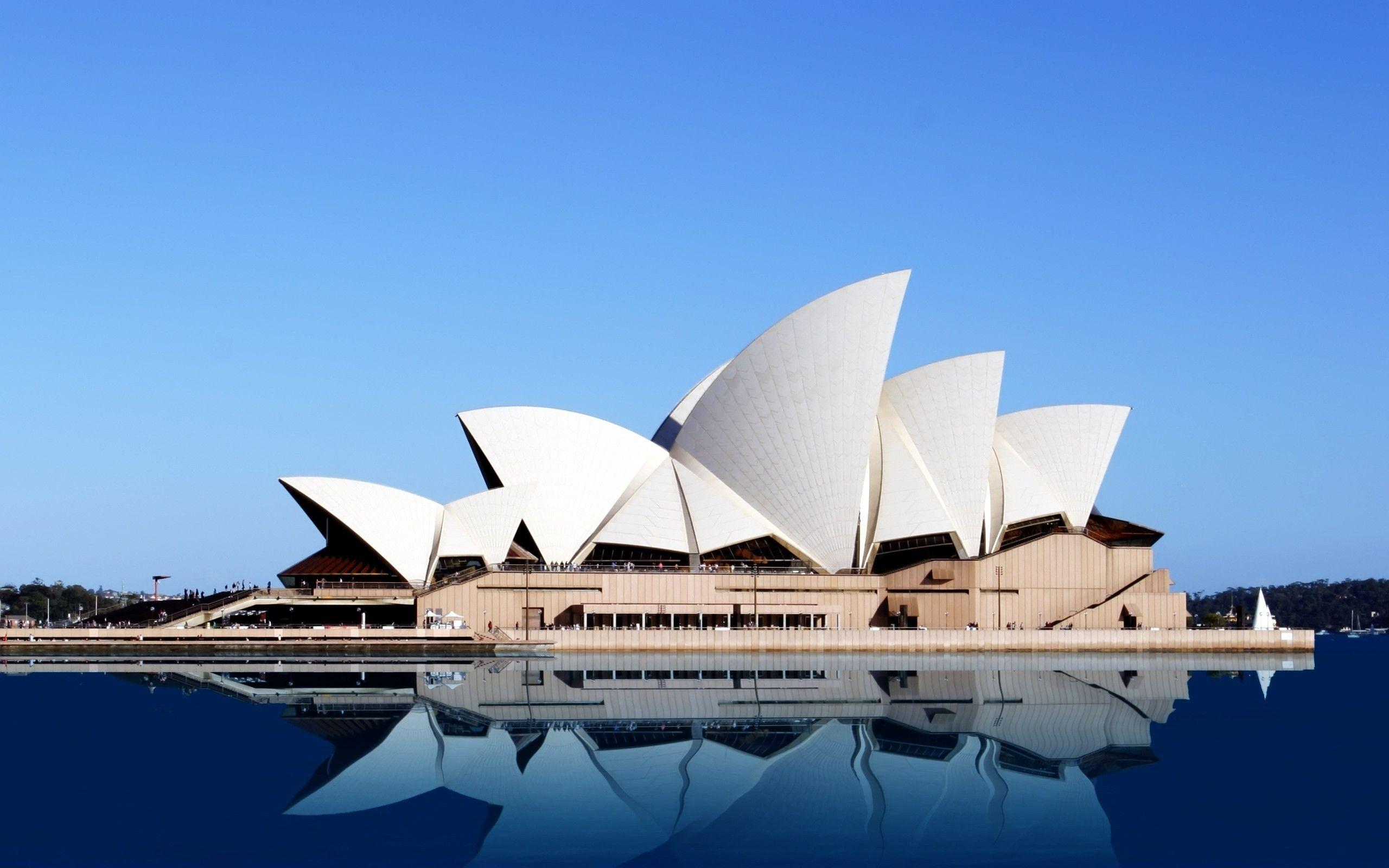 Sydney opera house wallpapers wallpaper cave for Sydney opera housse