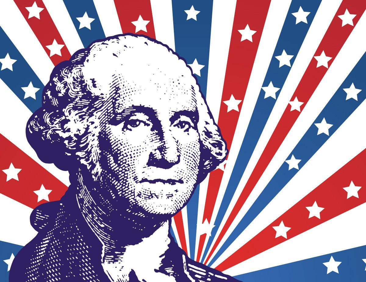 President's Day Vector Background | GraphicsKeeper.