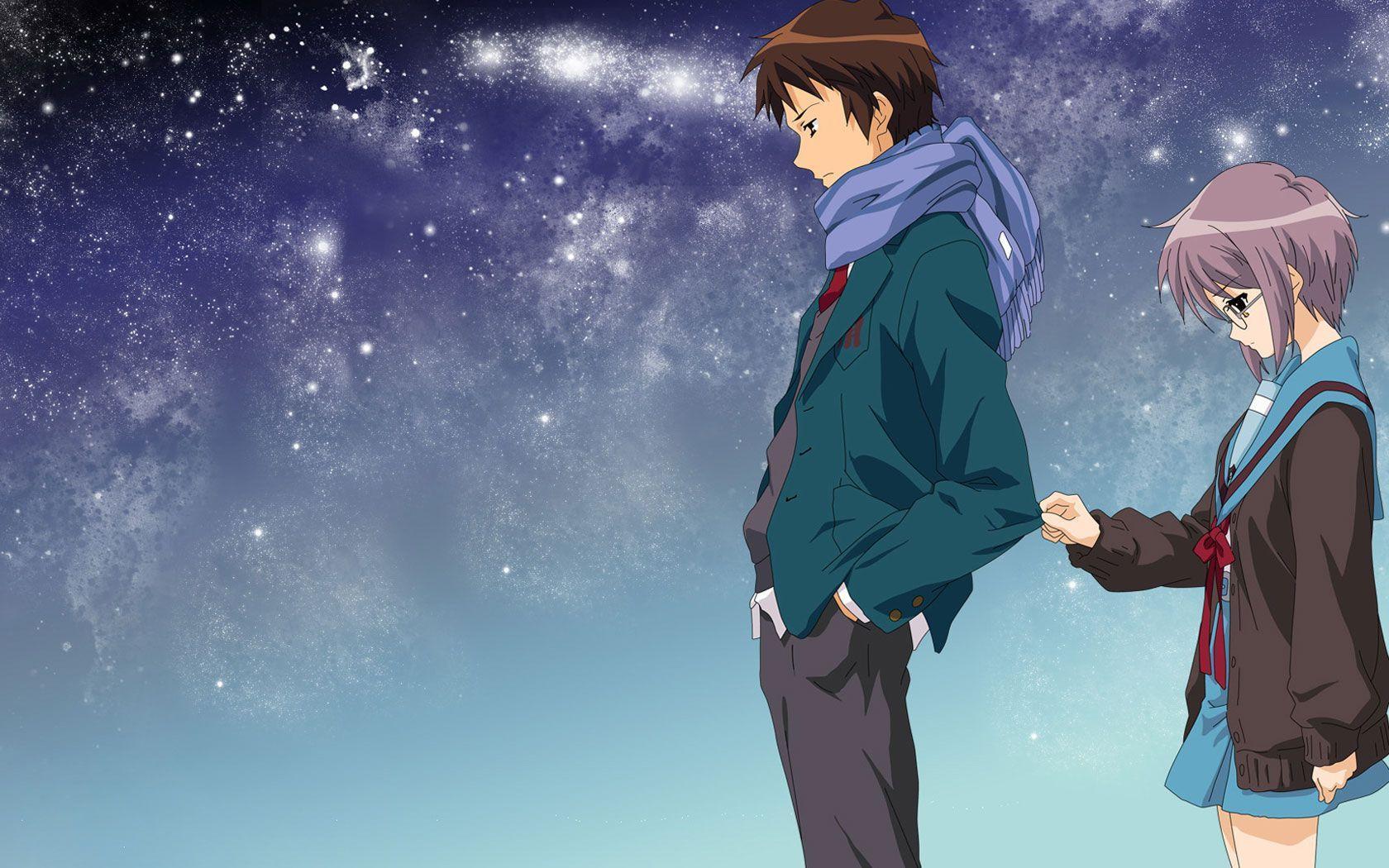 anime couple hugging wallpapers - photo #26