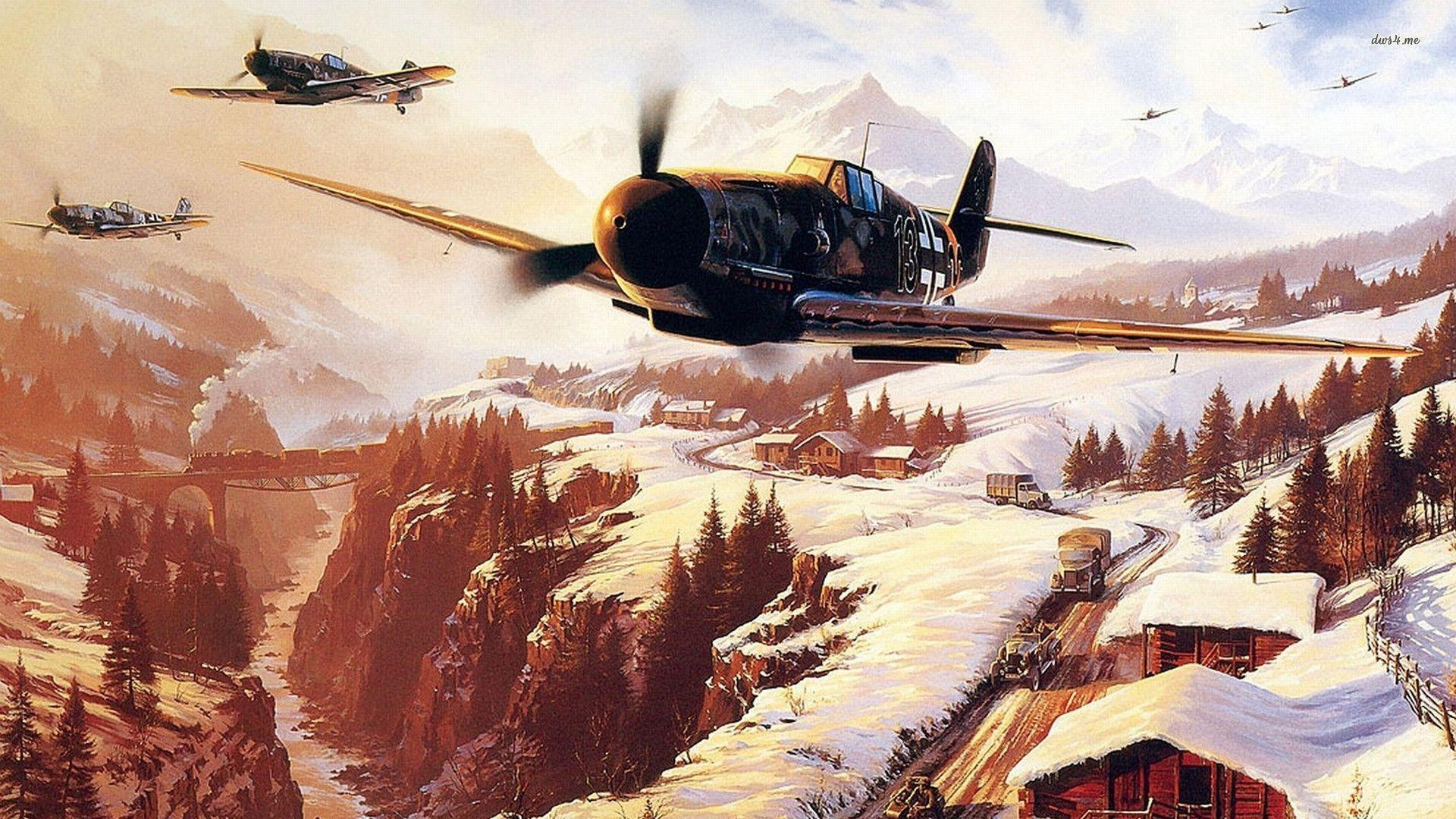 Wallpapers For > Ww2 Plane Wallpapers