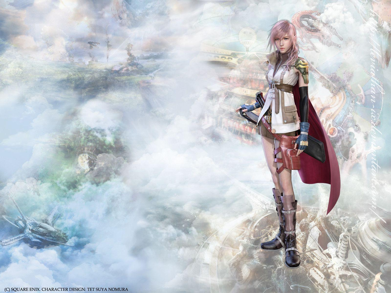 Wallpapers For > Final Fantasy 13 Lightning Wallpapers