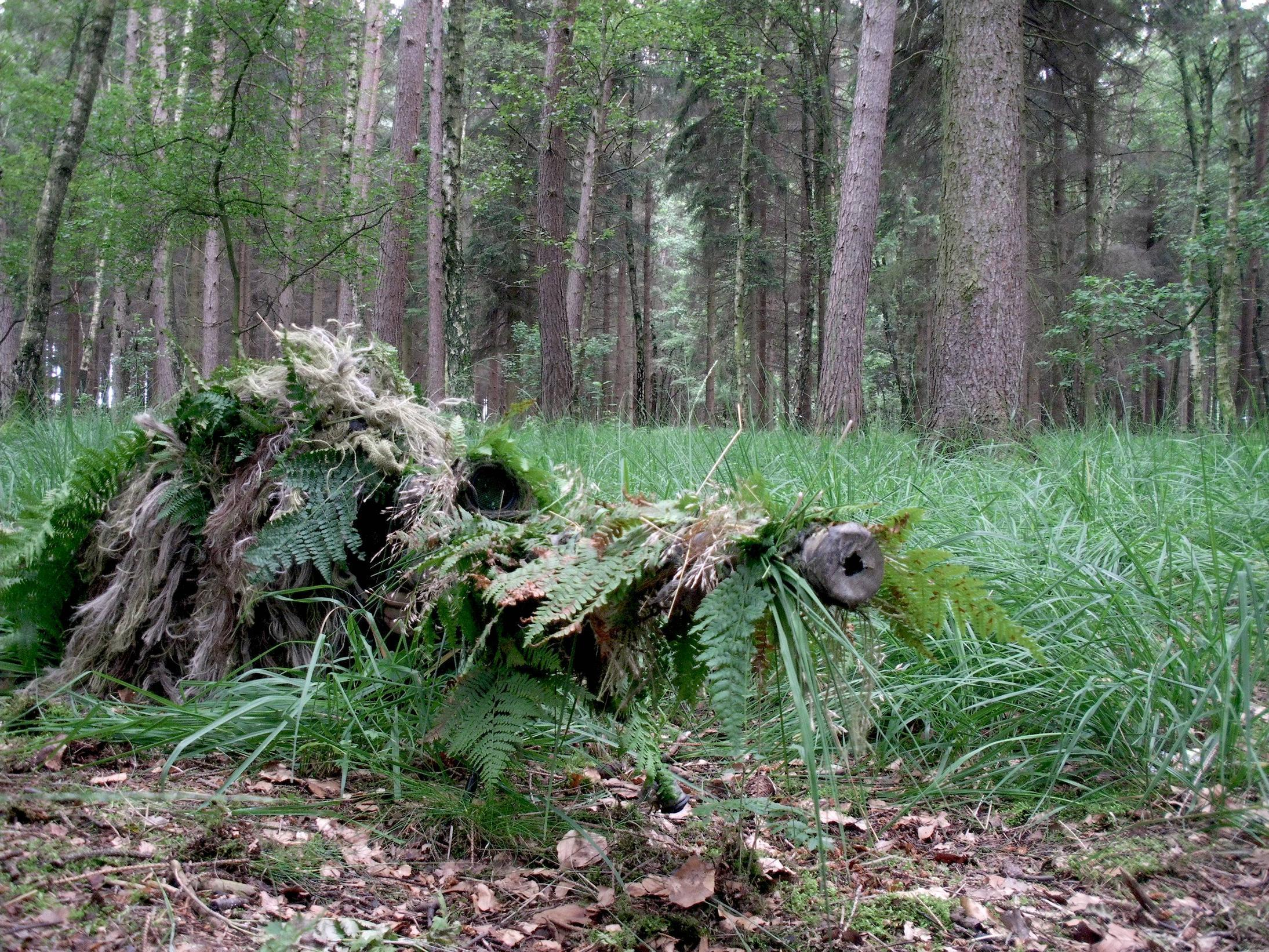 Pix For > Snipers In Ghillie Suits Hiding